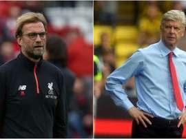 Klopp y Wenger continúan buscando jóvenes promesas. BeSoccer