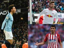 Could Sané, Werner and Rodri be heading Bayern's way. AFP