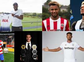 La Premier League fait péter les compteurs. Collage/EFE/AFP