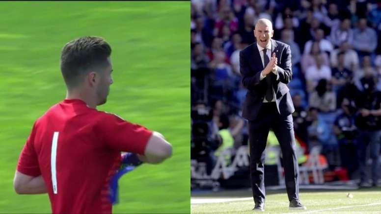 Protagonismo de los Zidane. EFE/CapturaRealMadrid