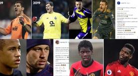 El reto viral también ha llegado al mundo del fútbol. Instagram