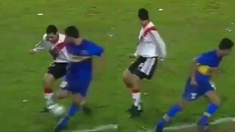 Historia del fútbol argentino. Collage/Olé