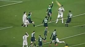 Khedira pagó la rabia de Cristiano. Collage/GolTV