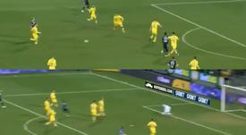 El ecuatoriano abrió el marcador. Captura/beINSports