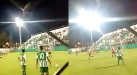 El gol recuerda al que Roberto Carlos le enfosó a Francia en 1997. Captura/Youtube
