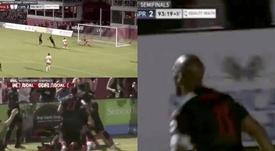 Drogba a permis aux siens d'accéder à la finale de la Conférence Ouest de USL. Capture
