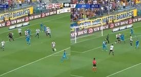 Chiellini abrió la lata de la Serie A 2019-20. Captura/VAMOS