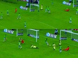 Juárez empató el partido en los instantes finales. Captura/TDN