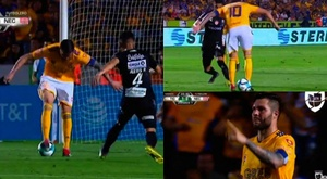 But de Gignac. Capture/Univision