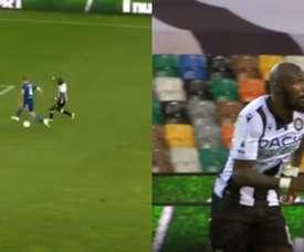 Fofana scored a last minute winner versus Juventus. Capturas/MovistarLigadeCampeones