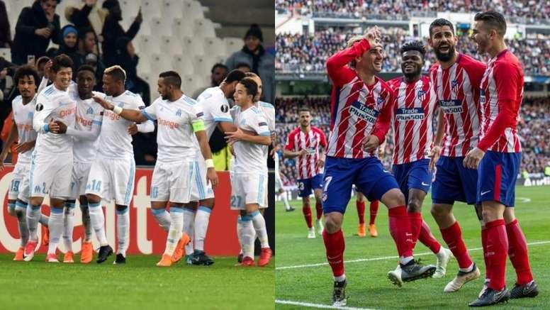 Marseille e Atlético, frente a frente na final da Liga Europa. BeSoccer