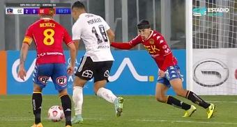 Colo-Colo consiguió el pase a la final tras golear a Unión Española (4-0). Captura/TNTSportsChile