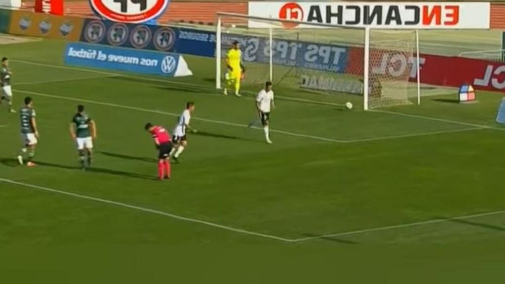 Colo-colo se impuso 0-4 a Santiago Wanderers. Captura/TNTSports