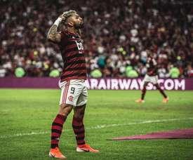Gabigol quer ficar no Brasil. Twitter @gabigol