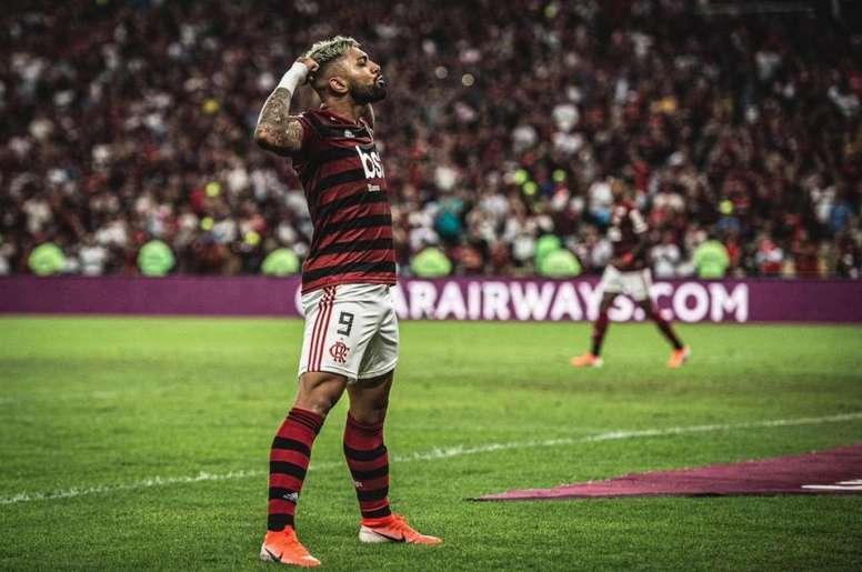 Gabriel Barbosa définitivement à Flamengo.Twitter @gabigol
