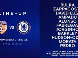 Compo de Chelsea. Twitter/ChelseaFC
