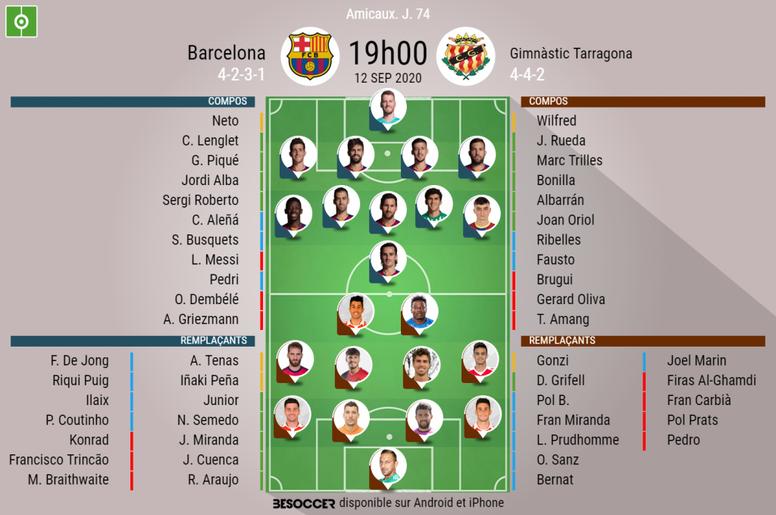 Suivez le direct du match Barça-Nastic. BeSoccer