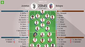 Suivez le direct de Juventus-Bologne. AFP