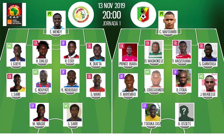 Suivez le direct de Sénégal-Congo. AFP