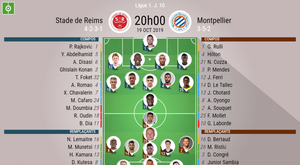 Les compos officielles du match de Ligue 1 entre Reims et Montpellier. BeSoccer