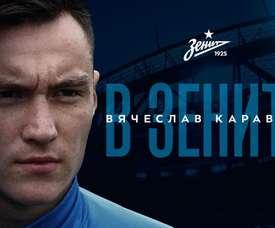 Le Zénith recrute Karavaev. Twitter/FCZénith