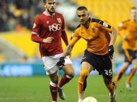 Connor Hunte jugará cedido en el Stevenage hasta enero. Wolves