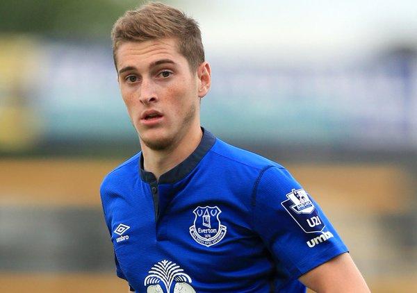 Conor Grant at Everton. EvertonFc