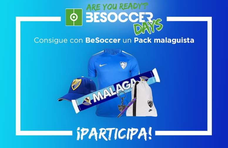 Consigue tu pack malaguista. BeSoccer