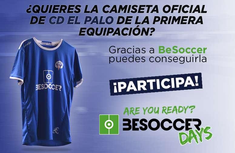 Consigue una camiseta del CD El Palo. BeSoccer