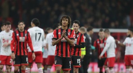 Howe denied Tottenham had been in contact over a move for Nathan Ake. AFCB