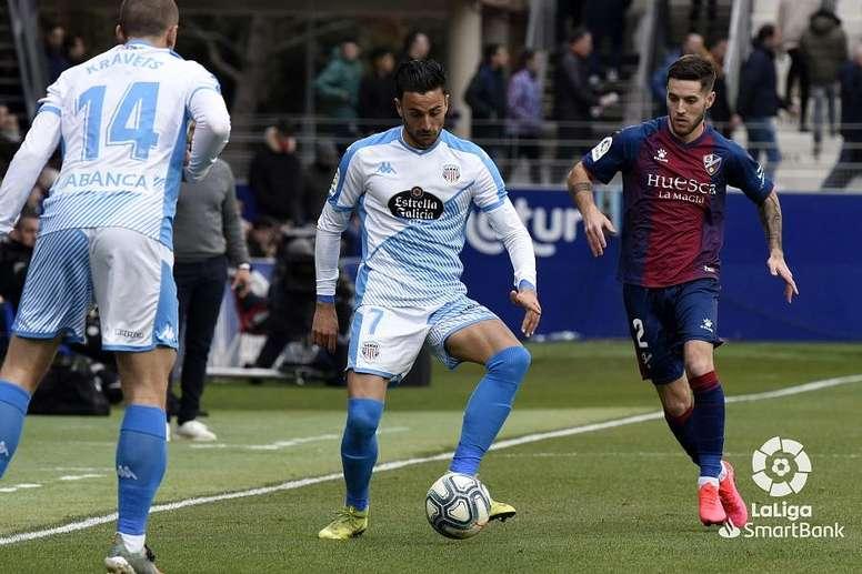 El Lugo claudicó ante la SD Huesca. LaLiga