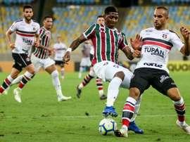 Prováveis escalações de Santa Cruz e Fluminense. Twitter @SantaCruzFC
