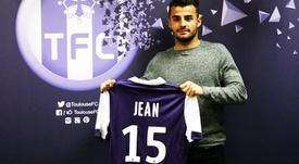 Corentin Jean s'engage définitivement avec Toulouse. ToulouseFC