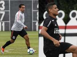 Corinthians e São Paulo se enfrentam pelo Campeonato Paulista. Collage/Twitter