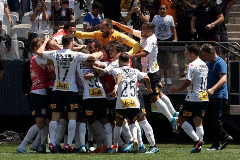 Corinthians recupera la sonrisa. Twitter/Corinthians