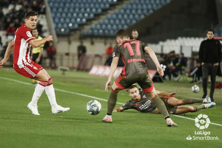 El Almería sumó su tercera victoria seguida. LaLiga