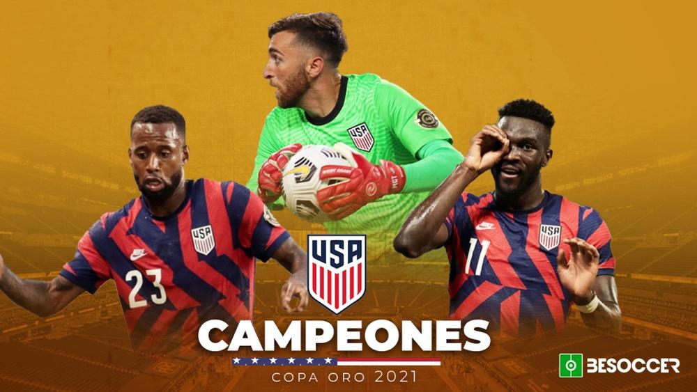 Estados Unidos, campeón de la Copa Oro 2021. BeSoccer