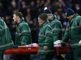 Corry Evans suffered a horrific injury in the local derby with Preston. Twitter/Rovers