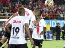 Cortulúa e Independiente de Santa Fé disputaron un intenso partido con victoria para los locales por 2-1. IndependienteSantaFe
