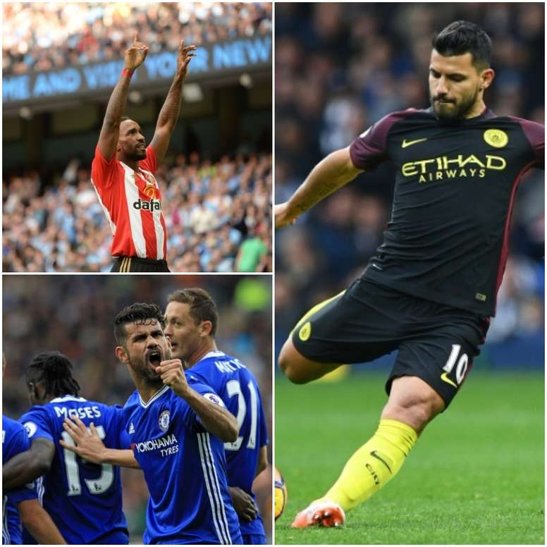 Costa, Aguero and Defoe are on the list. BeSoccer