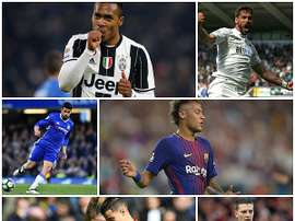 Costa, Coutinho, Alex Sandro, Llorente and Wimmer could all be affected by Neymar's move. BeSoccer