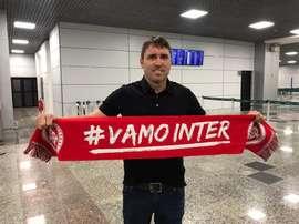 Inter, do técnico Coudet, pode viajar a Florianópolis em busca de treinos coletivos. SCInternacional