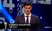 Courtois won FIFA's The Best Goalkeeper.