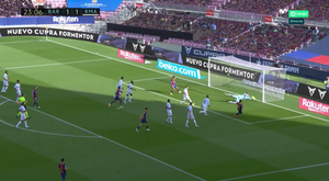 Both keepers made great saves. Screenshot/Movistar+LaLiga