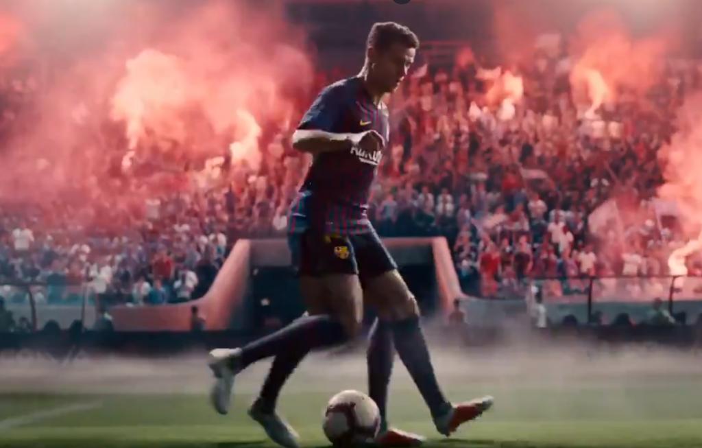 cámara Soltero estera  El genial anuncio de Nike con Coutinho, Ney y Ronaldinho - BeSoccer