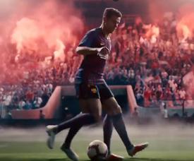 O comercial da Nike está cheio de estrelas. Captura/Nike