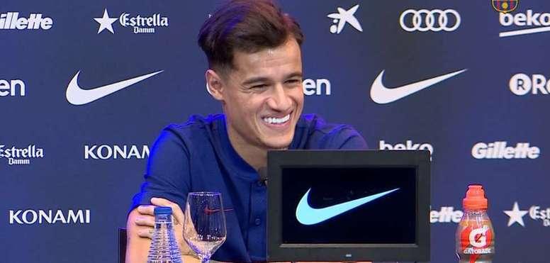El día de Coutinho. FCBarcelona