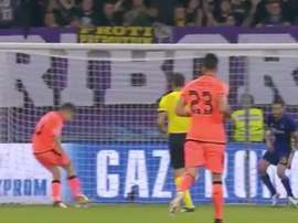 Coutinho a marqué le deuxième but. Twitter/FOX