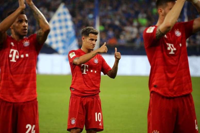 Coutinho demostró su compromiso con el Bayern. Twitter/FCBayernEN