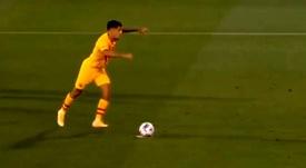 Coutinho segna con il Barça. BarçaTV